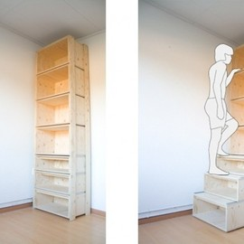 Staircase: Space Saving Storage