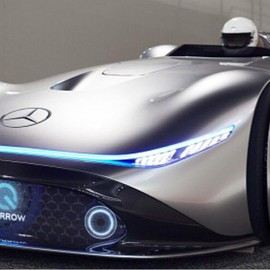 Mercedes-Benz - Mercedes Vision EQ Silver Arrow