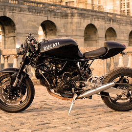 "DUCATI - SS CAFE FIGHTER ""NERO MINIMAL"""