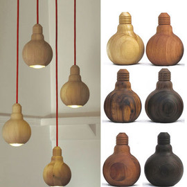 Lighting with Wooden Touches