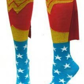 DC Comics - Superhero Adult Knee High Cape Sock