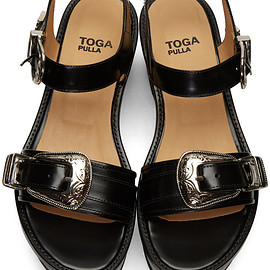 TOGA PULLA - buckled platform sandals
