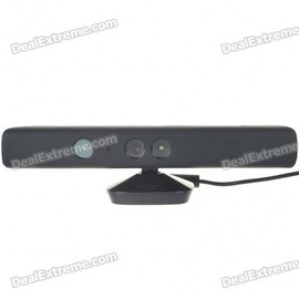 DX.com - Protective Silicone Cover Case for Xbox 360 Kinect - Black