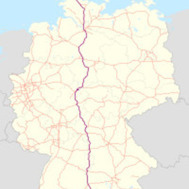 Autobahn Germany - A7