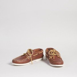 yuketen - boat shoe - waxed leather