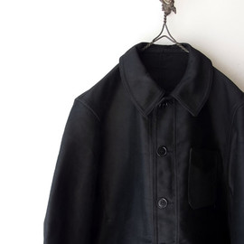 LE MOMT ST MICHEL - FRENCH MOLESKIN WORK JACKET 50s