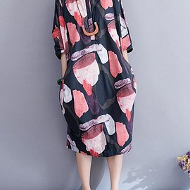 Maxi dress, Women oversized long Dresses, Cotton dress Women, Shirt collar dress