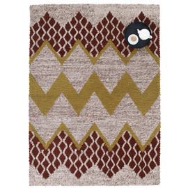 Donna Wilson - Fairisle Rug in Natural/Brown