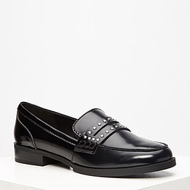 FOREVER 21 - studded loafers
