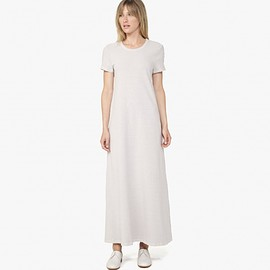 JAMES PERSE - TEXTURED JERSEY T-SHIRT DRESS