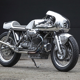 Moto Guzzi - 1000SP cafe racer by Shiny Hammer