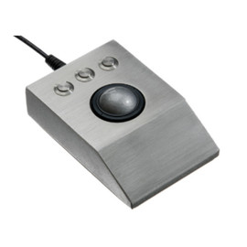 iKey - DT-TB (Stainless Steel Optical Trackball)