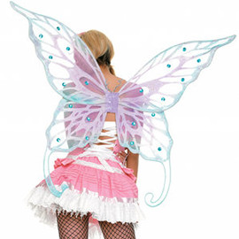 Leg Avenue - Winter Fairy Chiffon Jewelled Wings
