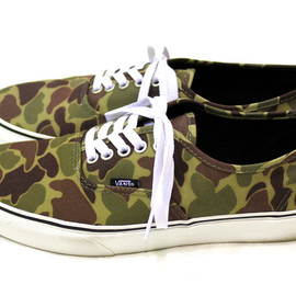 vans - Camo Authentic