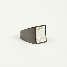 Maison Martin Margiela - 11 MEN'S TWO TONE SILVER AND GOLD RING