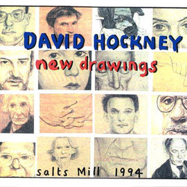 David Hockney - new drawings / salts mill 1994