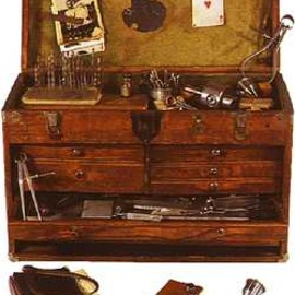 Machinist's tool chest, about 1949