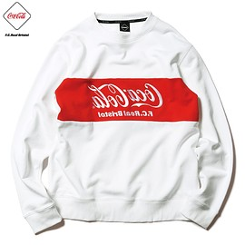 F.C.Real Bristol - COCA-COLA COLOR BLOCK CREWNECK SWEAT