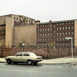 Berlin 1994: Wilhelmstrasse. The building on the left later housed the famous techno-disco