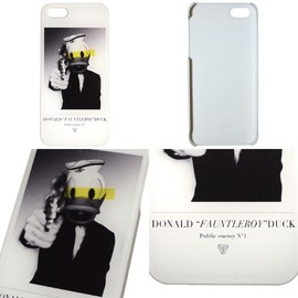 "GEOMETRICK - DONALD ""FAUNTLEROY"" DUCK iPhone5/5s Case / WH"