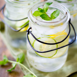 Refreshing Lemon Mint Cucumber Water