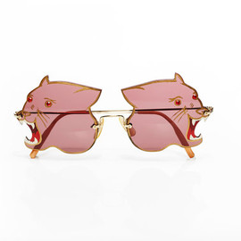 vintage 1970s panther sunglasses
