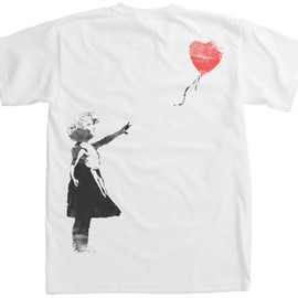 Banksy - Heart Balloon Girl