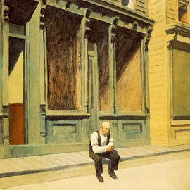 Edward Hopper - Sunday