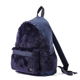 "HEAD PORTER - ""DUPLEX"" DAY PACK NAVY"