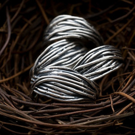 Colby June - Wide Nest Ring