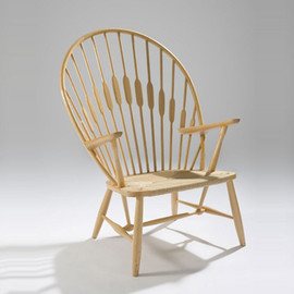 Hans J. Wegner - PEACOCK CHAIR PP550 Maple/Natural Paper Code