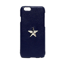 GJALLARHORN - iPhone6 case ONE STAR Navy×SLV