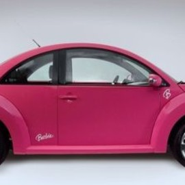 Volkswagen  - New Volkswagen Beetle Barbie All-Pink Edition