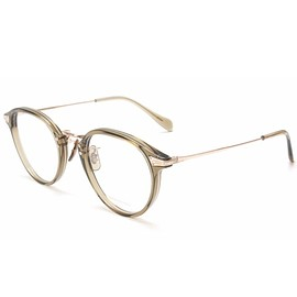OLIVER PEOPLES × POKER FACE - OLIVER PEOPLES × POKER FACE 【ULMAN】color. clear khaki 47□23