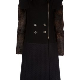 DRIES VAN NOTEN - rita bisfu coat