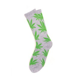 HUF - PLANTLIFE SOCKS (Grey)