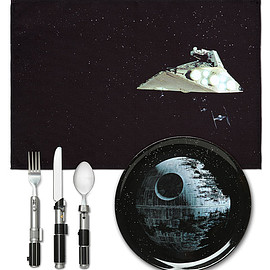 Star Wars - Death Star Dinner Set