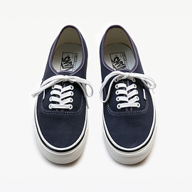 VANS - Authentic 44DX Anaheim Factory  Suede Navy