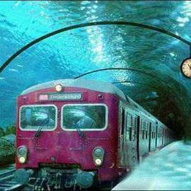 Venice - Underwater train in Venice