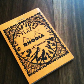 PLAZA x RHODIA x ROB RYAN - BROC No.11