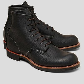 Brooks Brothers - Red Wing Bison Plain toe Boot
