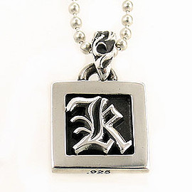 CHROME HEARTS - Framed Letter Block K