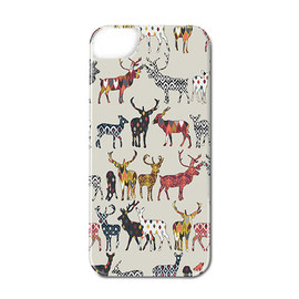 huru nia - Oatmeal Spice Deer iPhone ケース