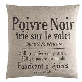 H&M Home - Cushion cover (Poivre Noir)