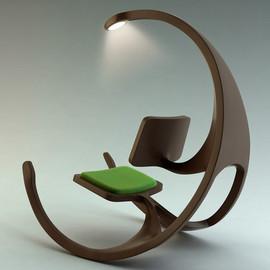 Rocking Wheel Chair By Mathias Koehler