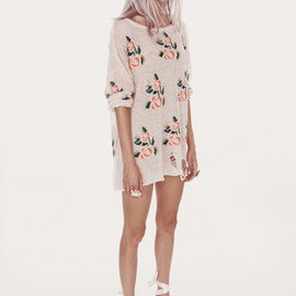 WILDFOX - PRAIRIE ROSE-LENNON SWEATER
