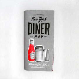 All You Can Eat Press - New York Diner Map