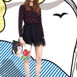 RED VALENTINO × Disney - Snow White collection look15