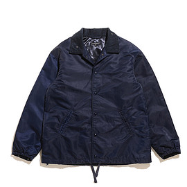 ENGINEERED GARMENTS - Ground Jacket-Flight Satin Nylon-Navy