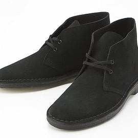 Clarks - デザートブーツ/Black Suede